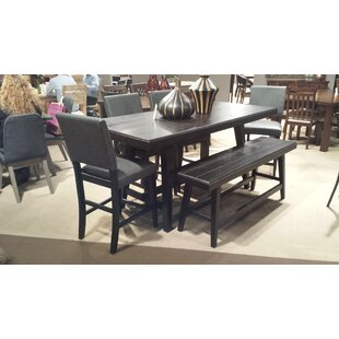 Incroyable Cassian Counter Height Solid Wood Dining Table