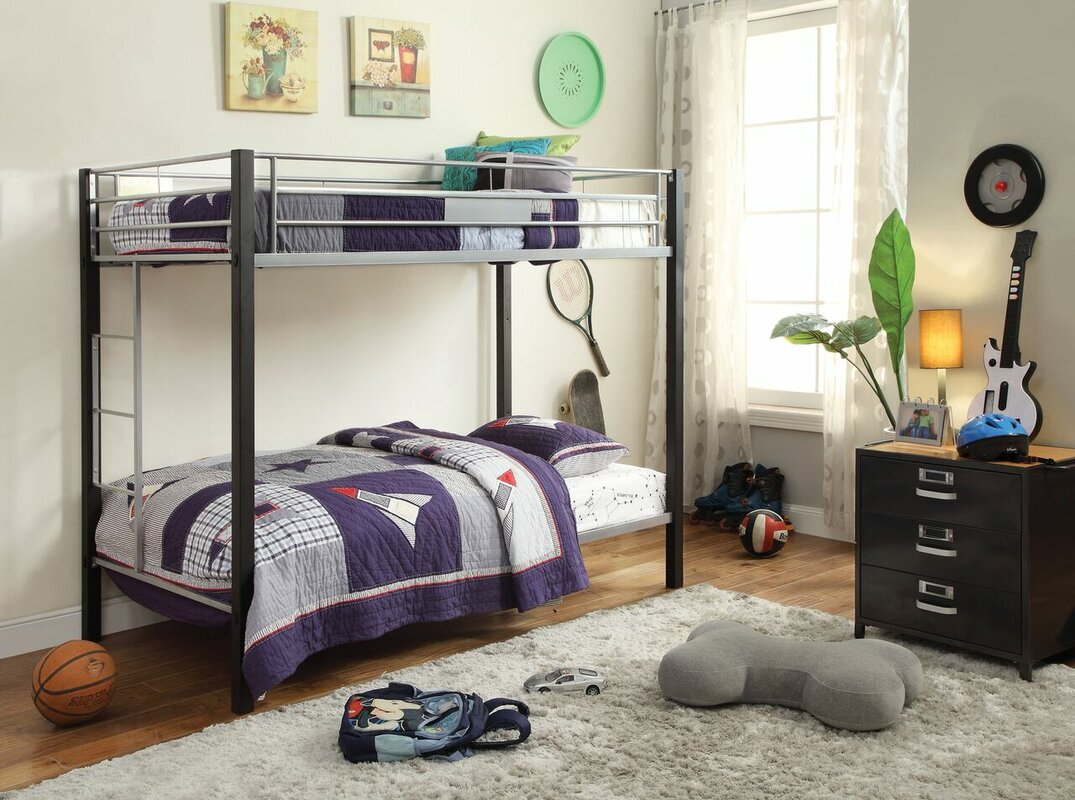 Captivating Edelstein Twin Over Twin Bunk Bed