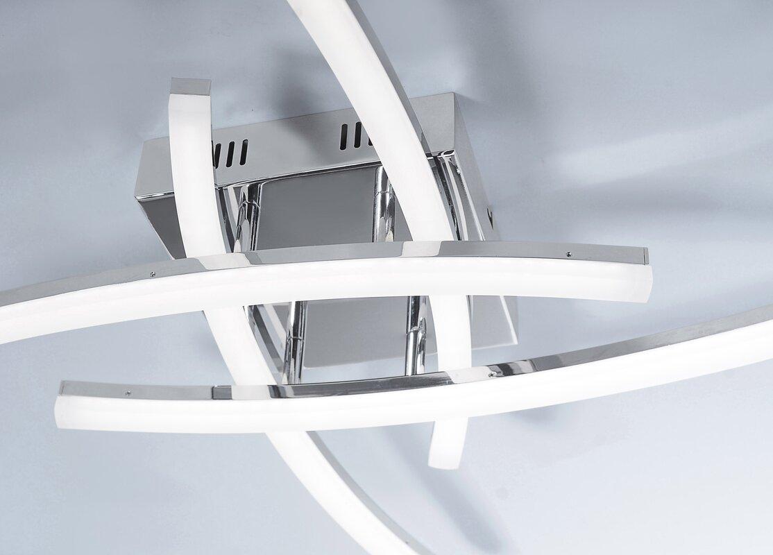 caracella led deckenleuchte 4 flammig ben bewertungen. Black Bedroom Furniture Sets. Home Design Ideas