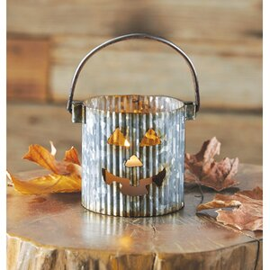Pumpkin Tin Votive Holder (Set of 6)
