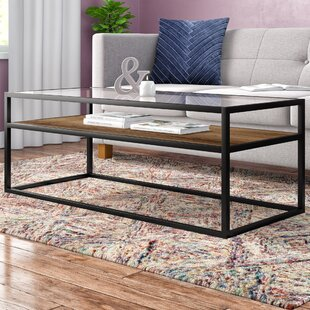 c168272084f Black Glass Coffee Tables You ll Love