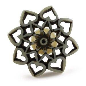 Flower Novelty Knob (Set of 4)