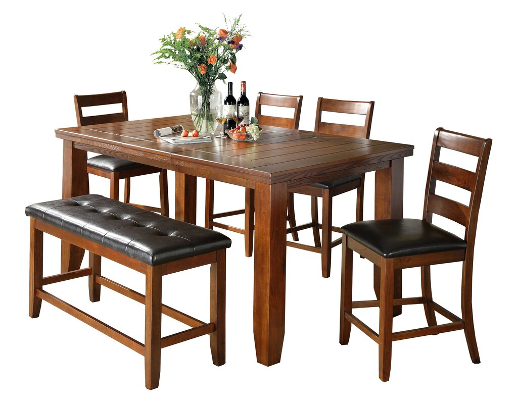Bridlewood 6 Piece Counter Height Dining Set Part 78