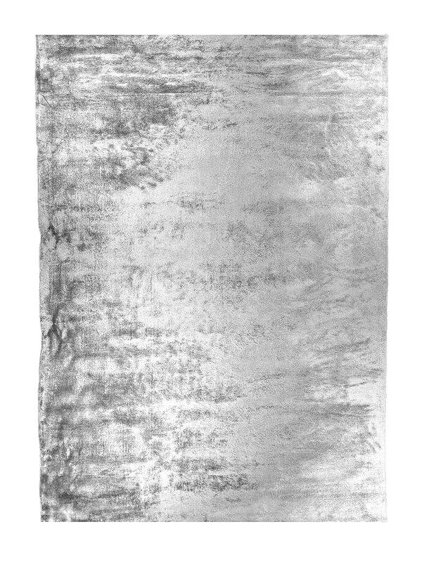 Hand Tufted Gunmetal Silver Area Rug