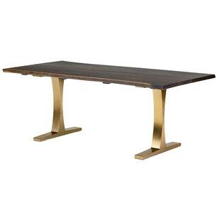 Marini Metal Base Dining Table
