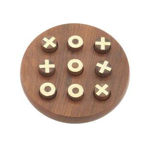 Wooden Tic Tac Toe Set Wayfair