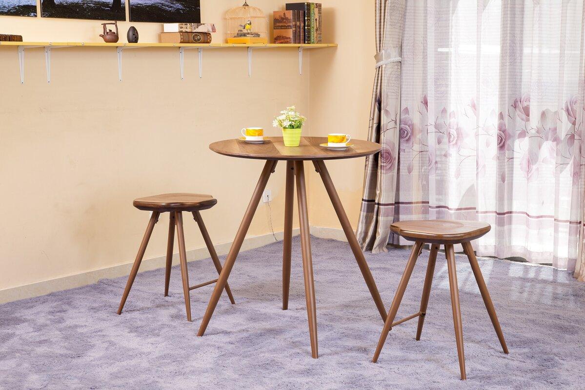 ACME Furniture Ainslee 3 Piece Pub Table Set & Reviews