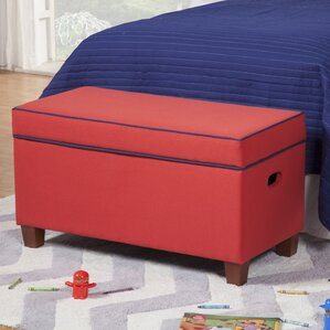 Barbra Kids Bench with Storage Compartment by Viv + Rae