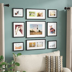 Boulware 9 Piece Wood Picture Frame Set