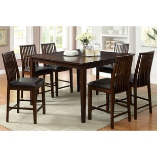 Alliani Counter Height Extendable Dining Table