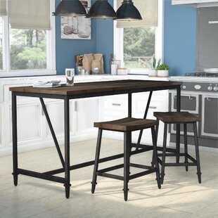 Lansing Height 3 Piece Pub Table Set