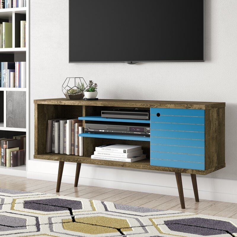 George Oliver Jabari Tv Stand For Tvs Up To 50 Reviews Wayfair