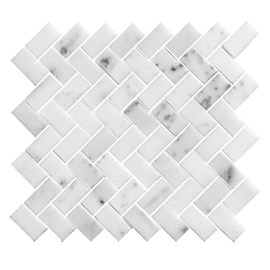Legion Furniture 1 Quot X 2 Quot Stone Mosaic Tile In Polished