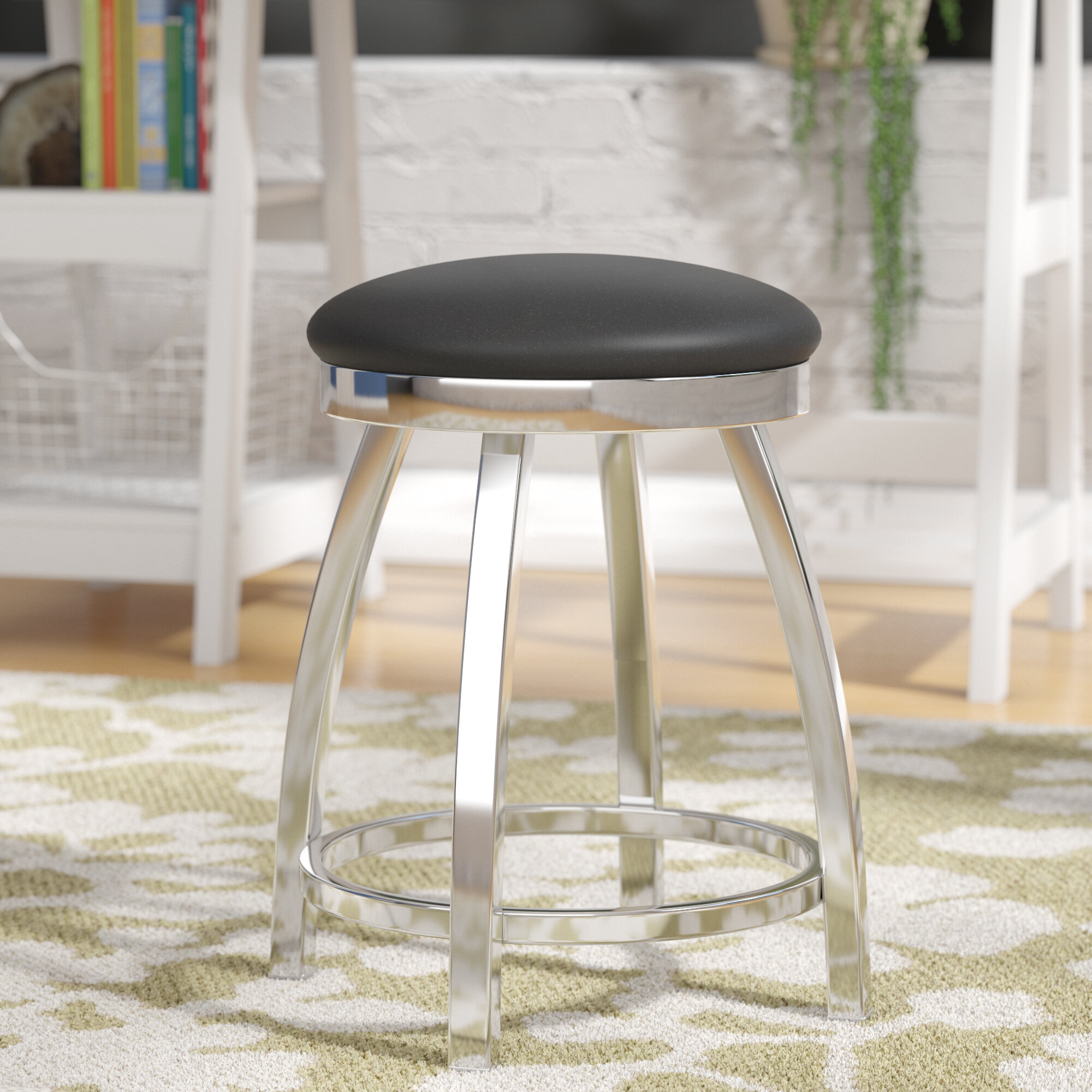 Wrought studio cragin swivel vanity stool reviews wayfair ca
