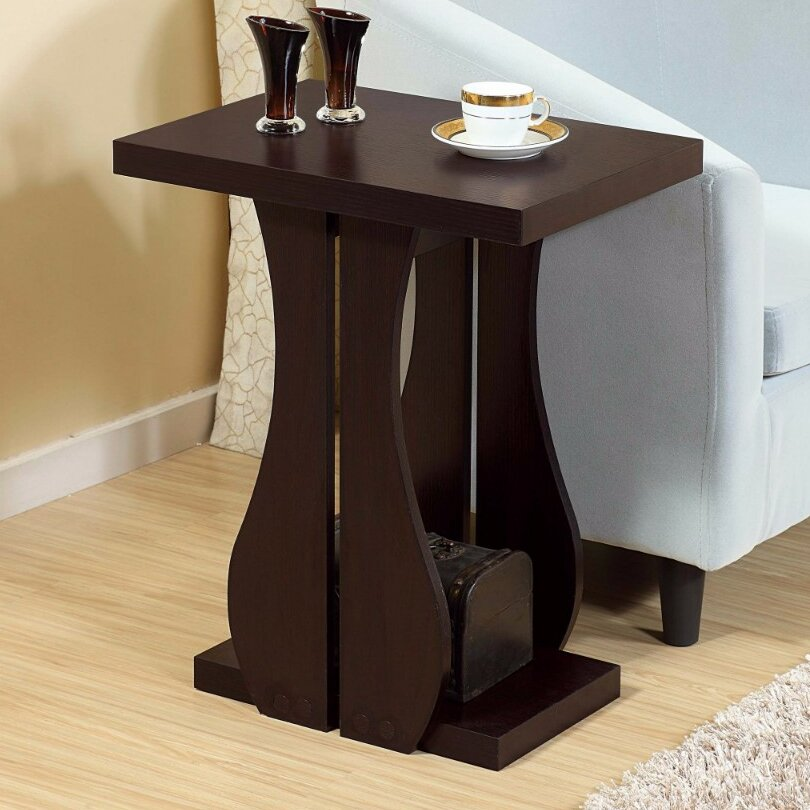 Ebern Designs McNulty Sophisticated Contemporary End Table & Reviews ...