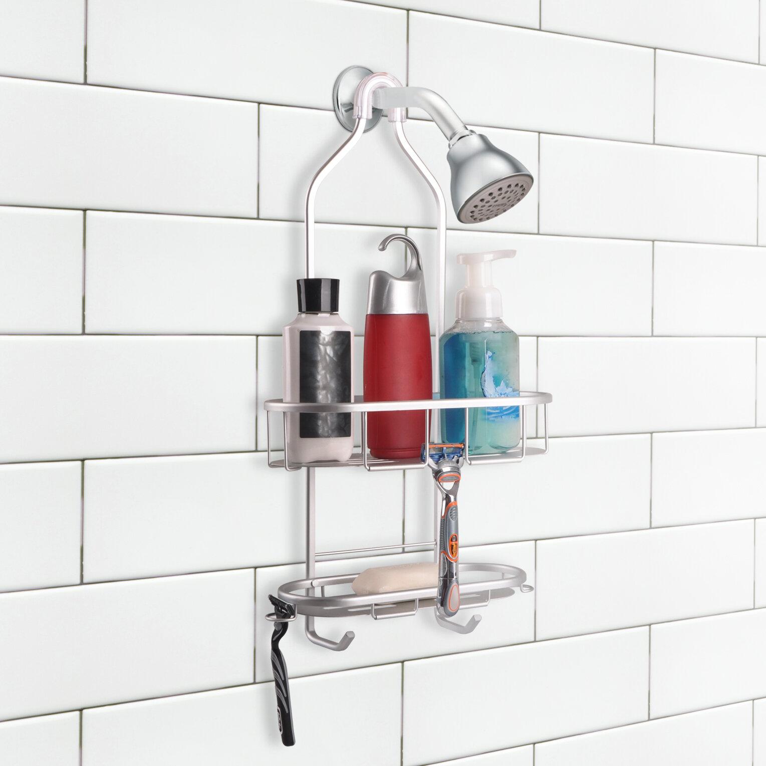 UtopiaAlley 2 Shelf Rustproof Shower Caddy | Wayfair