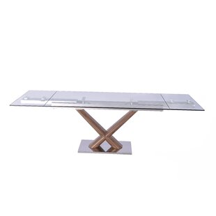 Maiorano Extendable Rectangular Dining Table