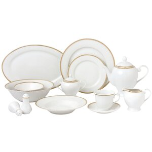 57 Piece Dinnerware Set, Service for 8