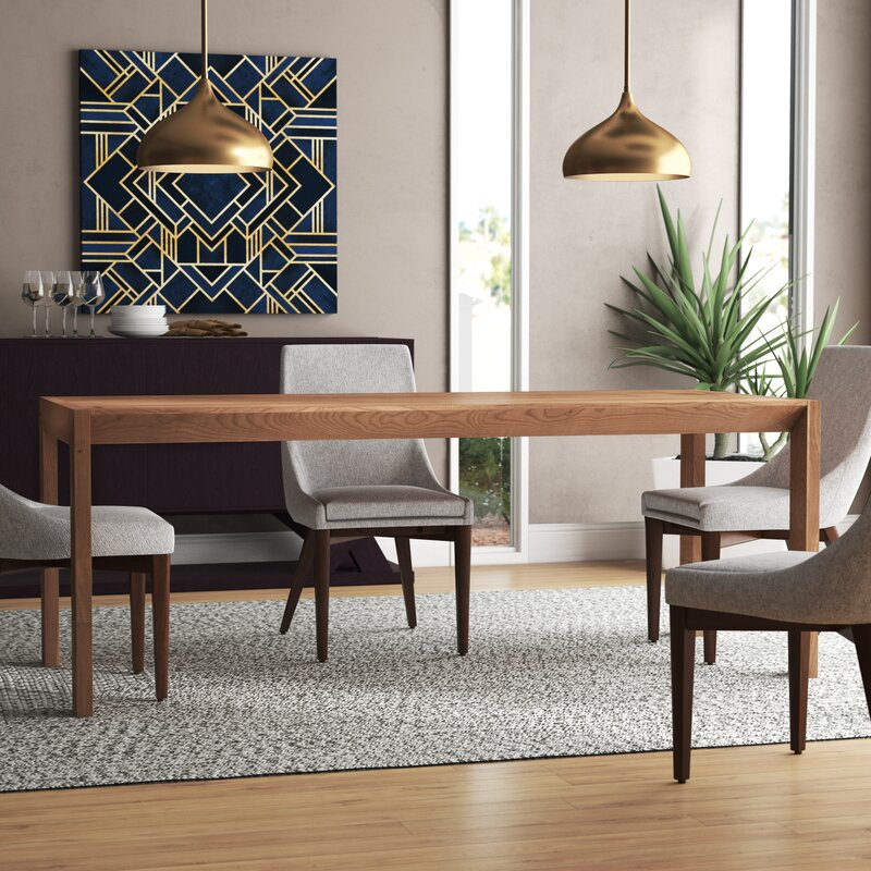 Second Best 76 Quot Dining Table Allmodern