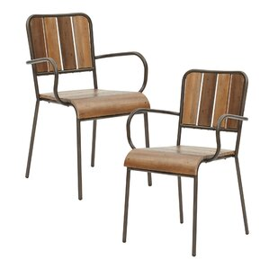 Renu Solid Wood Dining Chair (Set of 2) by INK+IVY