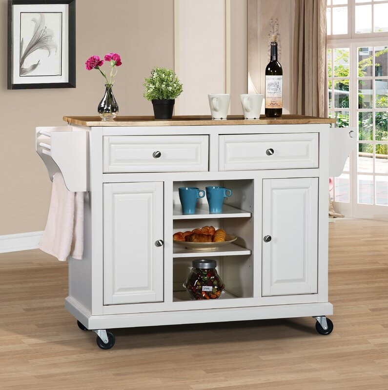 solid wood kitchen island kitchen island with solid wood top amp reviews joss amp 22063