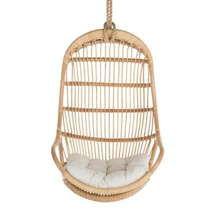 Hanging Rattan Chair | Wayfair