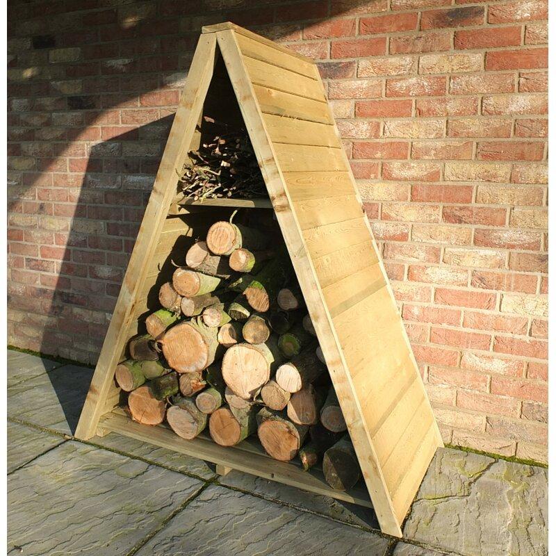 Jovani 3 Ft. x 1 Ft. Wood Log Store