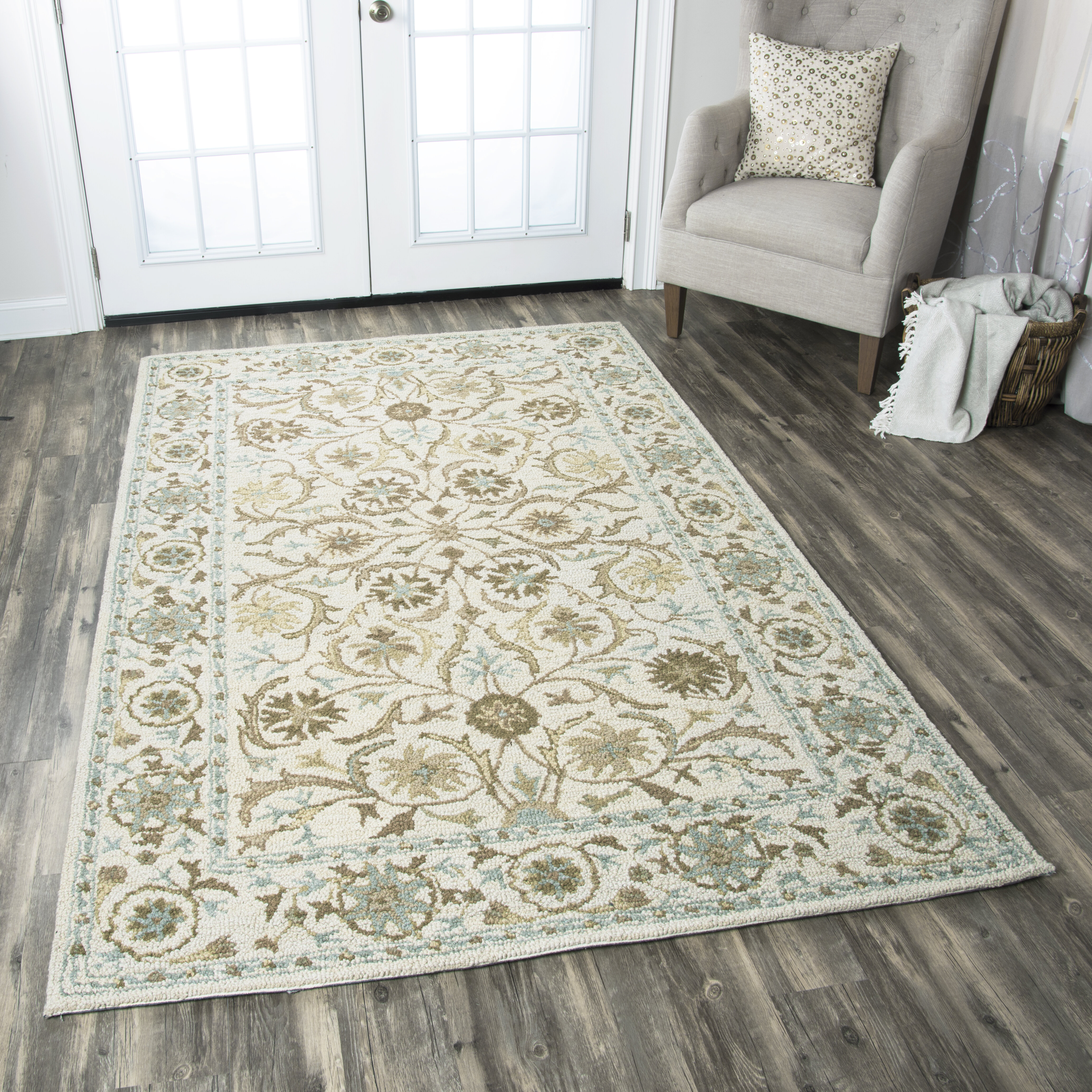 Birch Lane Heritage Ake Hand Tufted Wool Ivory Area Rug Reviews