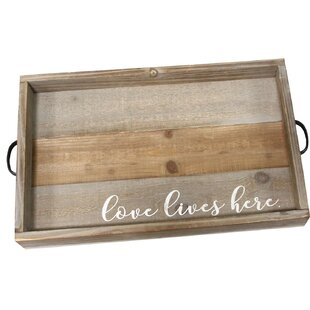 Marquand Love Lives Here Coffee Table Tray
