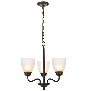 Hampton bay chandelier wayfair hampton 3 light candle style chandelier aloadofball Choice Image