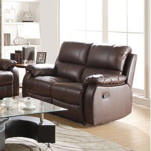 Enoch Leather Reclining Loveseat by ACME Furniture