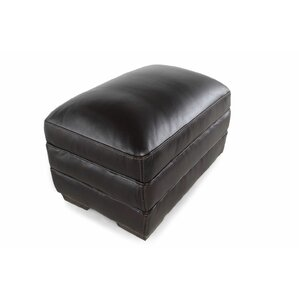Leather Ottoman by LYKE Home
