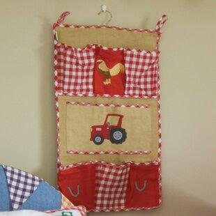 Barn House Toy Bag by HoneyBee Nursery