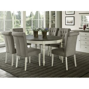 Lattimore 7 Piece Dining Set by Rosecliff..