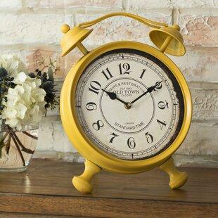 Haddam Vintage Table Clock