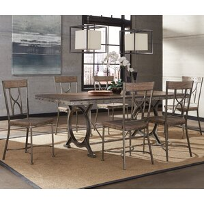 Ligia 7 Piece Dining Set by 17 Stories