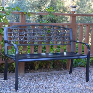 Metal Wood Park Benches You Ll Love Wayfair