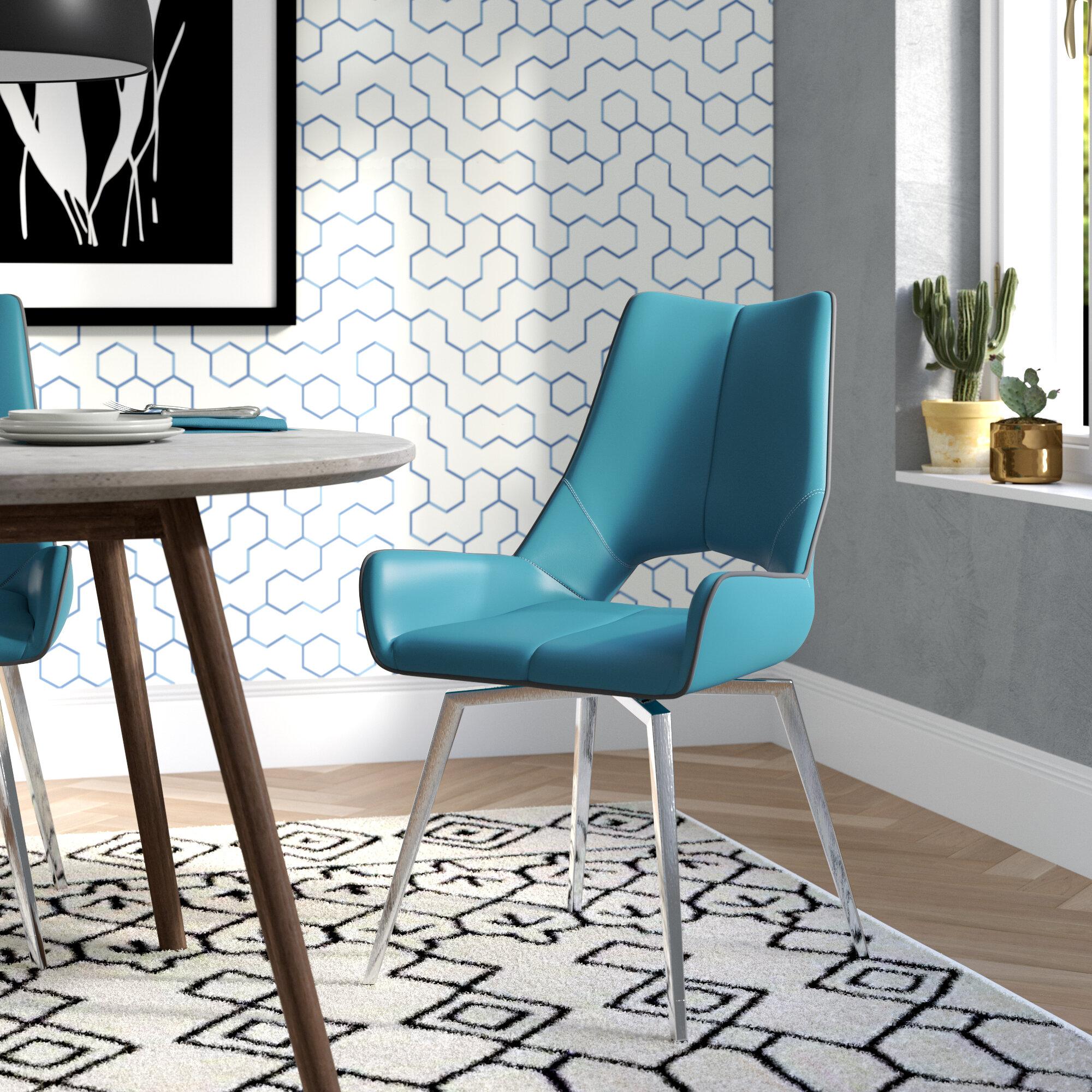Brayden Studio Kimbell Bucket Upholstered Dining Chair Reviews Wayfair