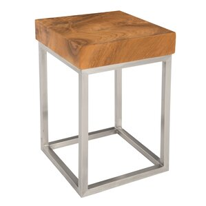 Teak End Table by Phillips Collection