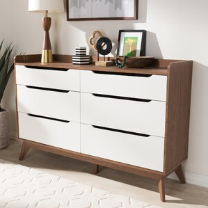 Brydon 6 Drawer Double Dresser by George Oliver