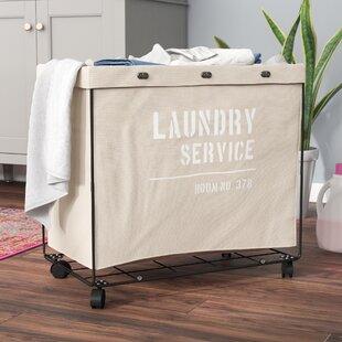 b75e0e61e470 Laundry Basket With Wheels | Wayfair