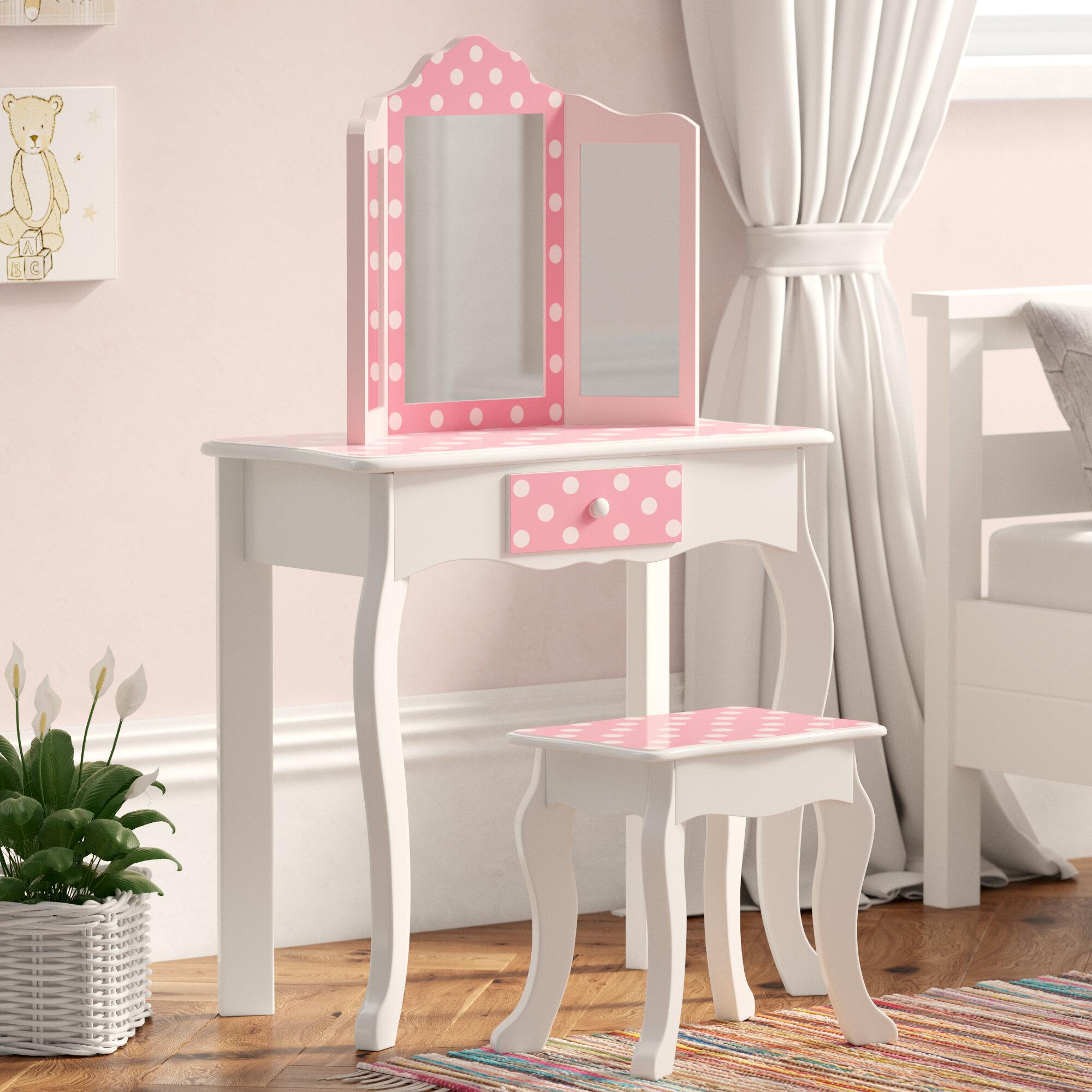 newest 7b679 28013 Bedroom Furniture Dressing Tables Elegant White Vanity Set ...