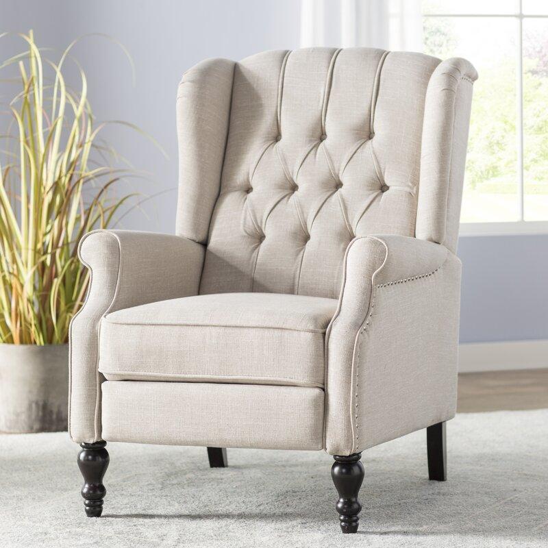 henley manual recliner reviews joss main. Black Bedroom Furniture Sets. Home Design Ideas