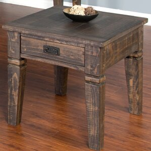 Calina End Table by Gracie Oaks