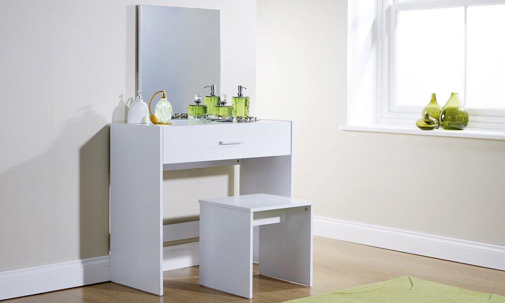 Modern you schminktisch set uli mit spiegel bewertungen - Schminktisch modern ...