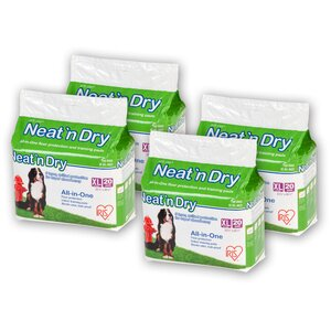 Neat 'n Dry Premium Pet Training Pad (Set of 4)