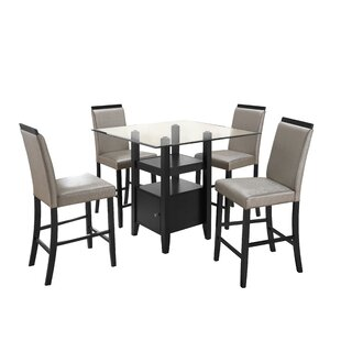 Stukes 5 Pieces Dining Set