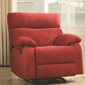 Mcneely Manual Rocker Recliner & Red Recliners You\u0027ll Love | Wayfair islam-shia.org