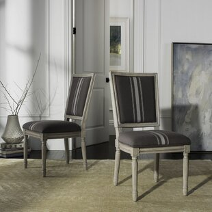 Schneider French Brasserie Upholstered Dining Chair (Set of 2)