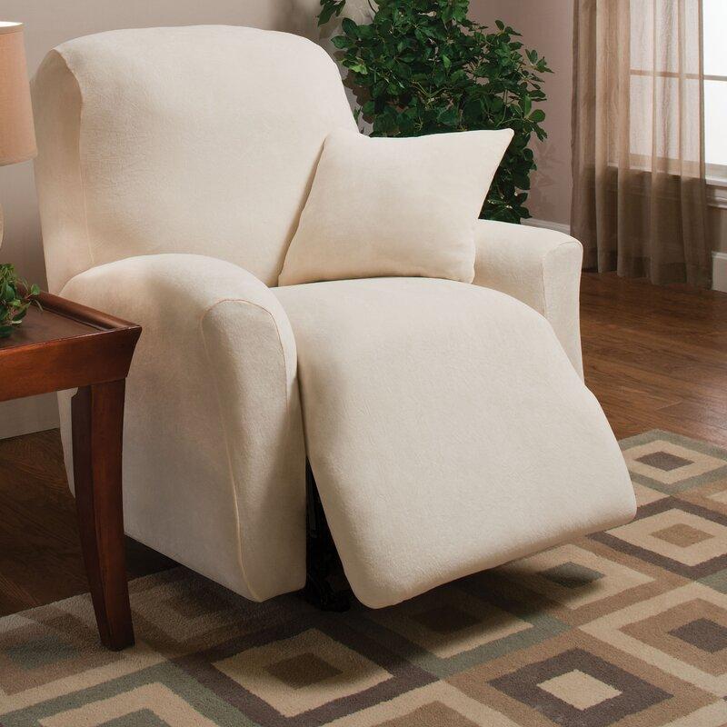 Stretch Microfleece Box Cushion Recliner Slipcover & Madison Home Stretch Microfleece Box Cushion Recliner Slipcover ... islam-shia.org